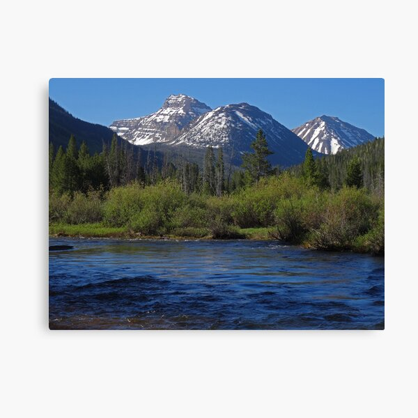 Sky in the Water Canvas Print