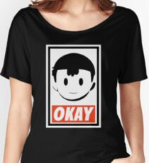 OKAY Women's Relaxed Fit T-Shirt