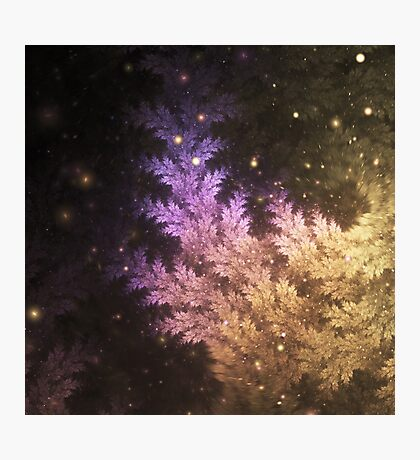 Spellcaster - Abstract Fractal Artwork Photographic Print