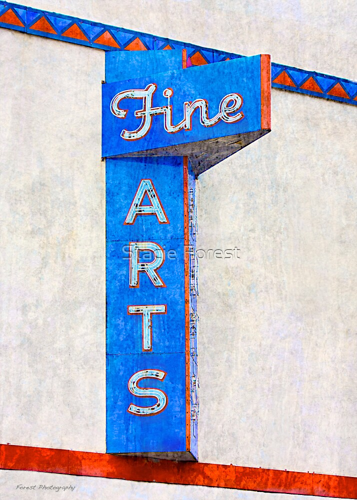 Fine Arts  by Stacie Forest