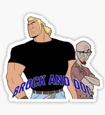Brock & Doc Sticker