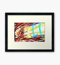 Ho-Oh   Sacred Fire Framed Print