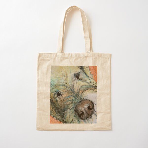 West highland terrier, white Cotton Tote Bag