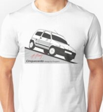Fiat Cinquecento by Giugiaro Unisex T-Shirt