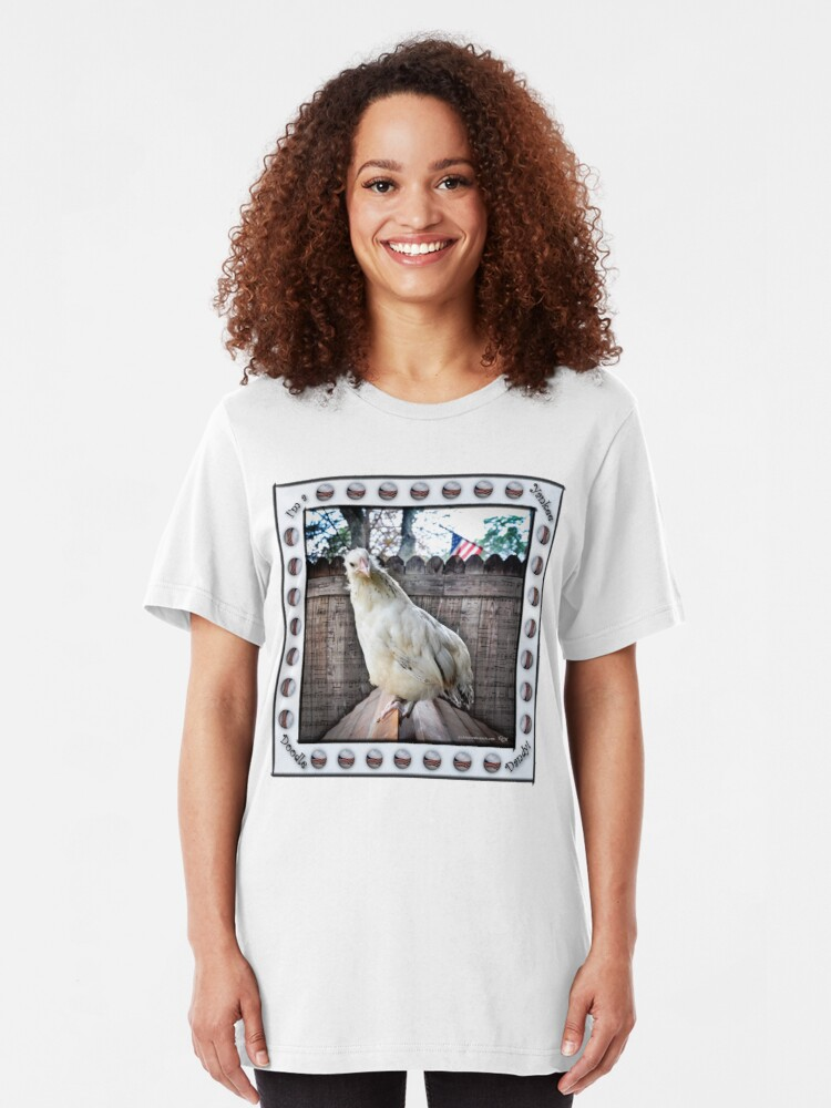 Alternate view of I'm a Yankee Doodle Dandy Slim Fit T-Shirt