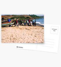 West African Fishing - Print Postkarten