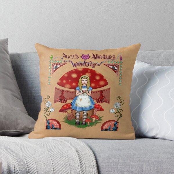 Alice, Tote & Pillow Throw Pillow