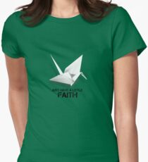 prison break - Faith Womens Fitted T-Shirt