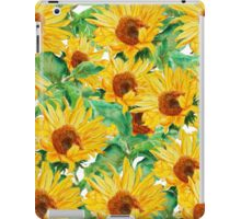 sunflower pattern iPad Case/Skin