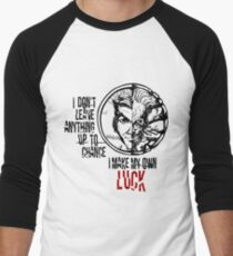 Harvey Dent/Two-Face - Quote Men's Baseball ¾ T-Shirt