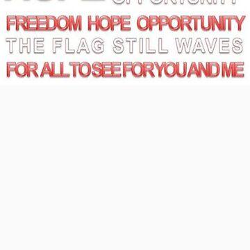 America's Best Days Aren't Over Yet Flag Image by toprendek