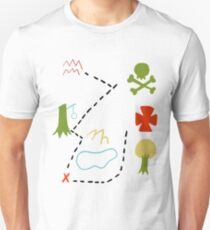 Peter Pan Map T-Shirt