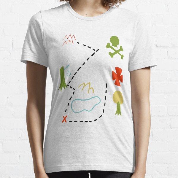 Peter Pan Map Essential T-Shirt