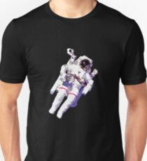 Floating Astronaut Unisex T-Shirt