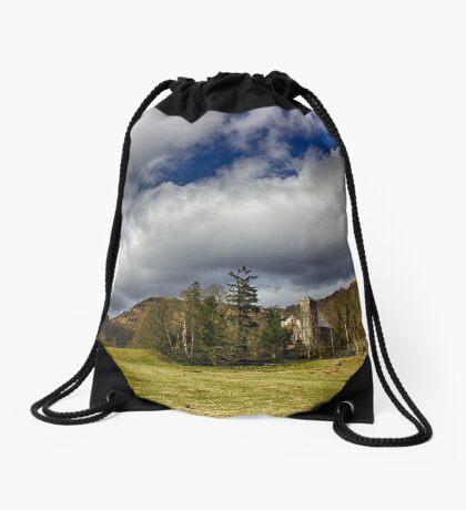 Belief in Solitude Drawstring Bag