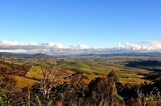 Victorian High Country by Graeme-Mellor