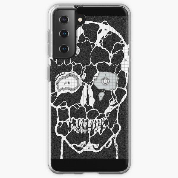Devil Face Cave Map Samsung Galaxy Soft Case