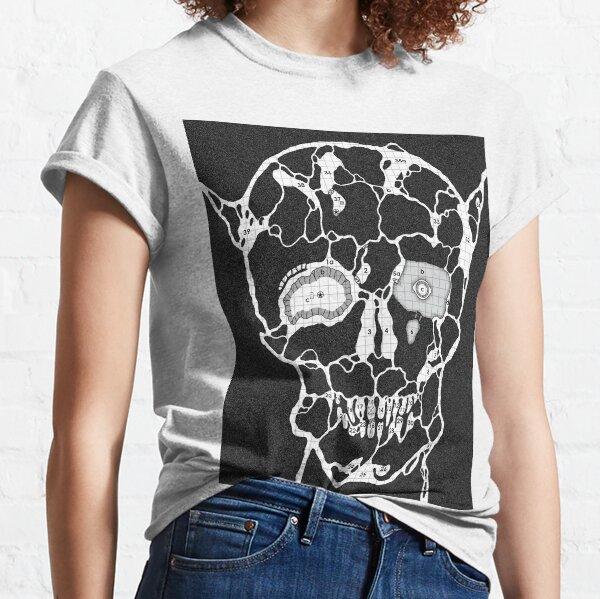 Devil Face Cave Map Classic T-Shirt
