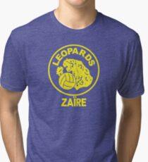 ZAIRE 1974 WORLD CUP Tri-blend T-Shirt