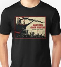Many Fires Create A Nation T-Shirt