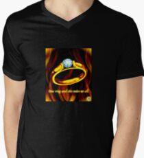One Ring Men's V-Neck T-Shirt