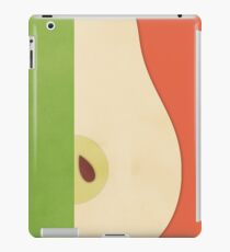 Pear (orange) - Natural History Fruits iPad Case/Skin