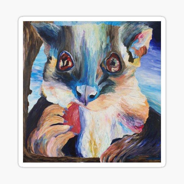 Prism Possum Sticker