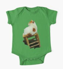 Cat playing perched One Piece - Short Sleeve