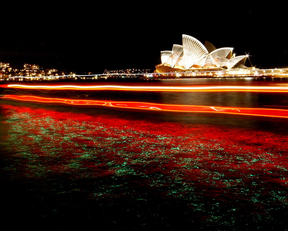 Sydney Harbour Sparkle by Kylie Epskamp