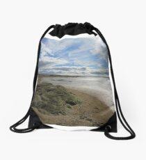 The long Beach Drawstring Bag