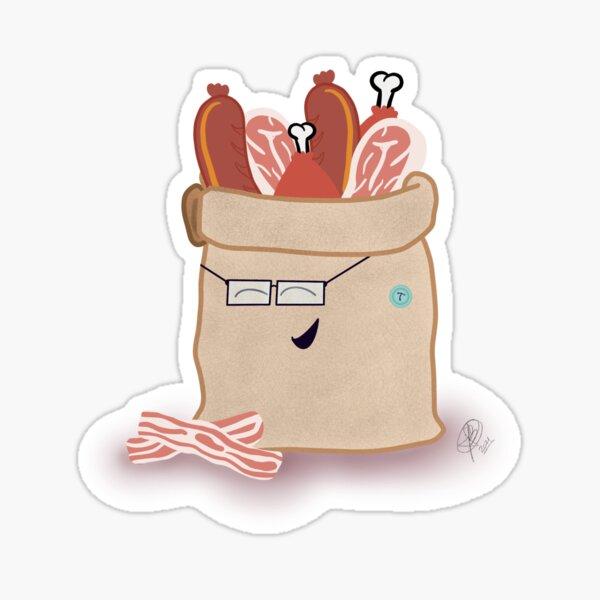 Adorable Meatsack Sticker