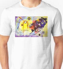 Yellow Red Blue Unisex T-Shirt