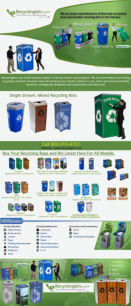 Recycle Bin for Corporations by recyclingbin