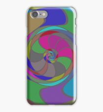 Colorful whirlpool iPhone Case/Skin