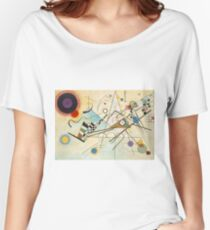 Kandinsky painting Women's Relaxed Fit T-Shirt