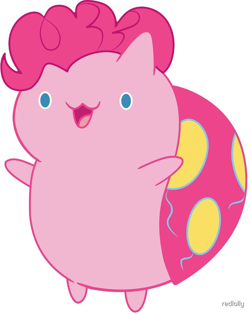 Pinkie Pie Catbug by redlolly