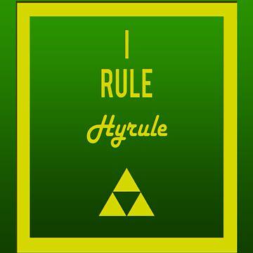"""I rule Hyrule"" design by jayman1998"