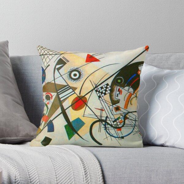 Kandinsky painting Throw Pillow