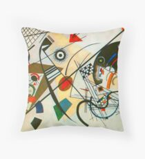 Kandinsky painting Throw Pillow