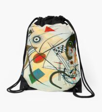 Kandinsky painting Drawstring Bag