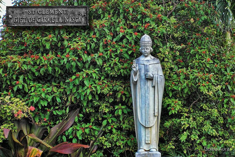 Saint Clement Catholic Church Icon by GolemAura