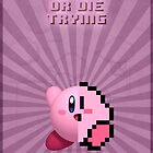 Kirby Evolve of Die Trying by requenart
