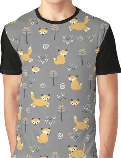 Foxy Grey Graphic T-Shirt