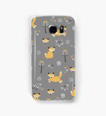 Foxy Grey Samsung Galaxy Case/Skin