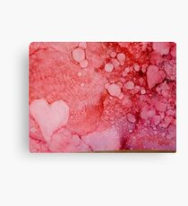 Ink Love Canvas Print