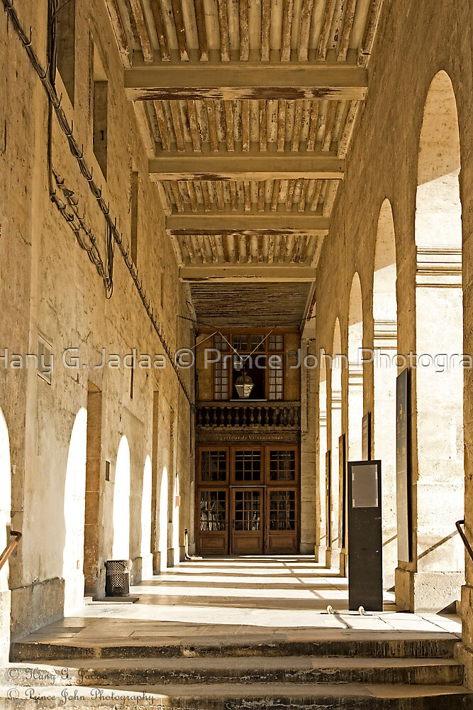 A Corridor View At The Museum Of The Army ©  by © Hany G. Jadaa © Prince John Photography