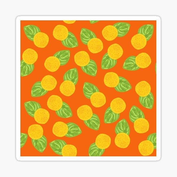 Billy Ball Seamless Pattern Sticker