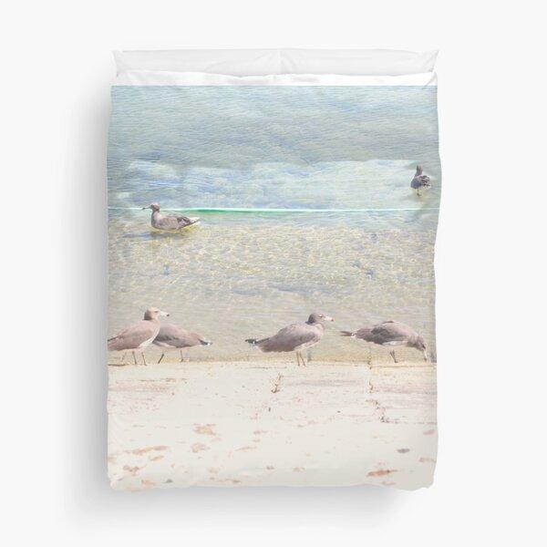 Care Free Grey Gull Duvet Cover