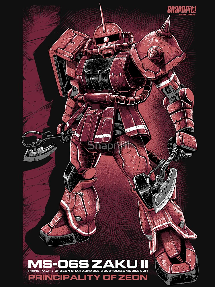 TShirtGifter presents: Zaku Char | Unisex T-Shirt
