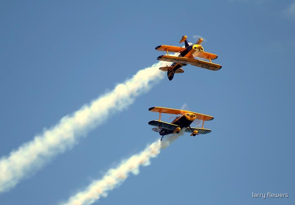 Trig Aerobatic Team  by larry flewers